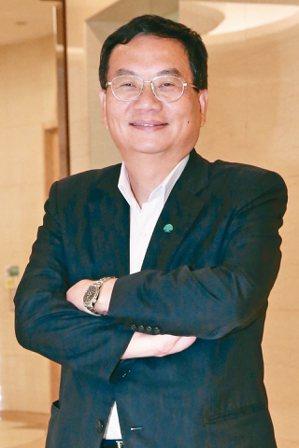 國泰產險總經理陳萬祥 記者林俊良/攝影