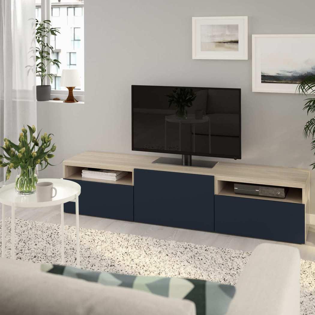 「BESTÅ 系統收納櫃電視櫃」產品甲醛含量以最嚴格F1等級作為標準,並提供10...