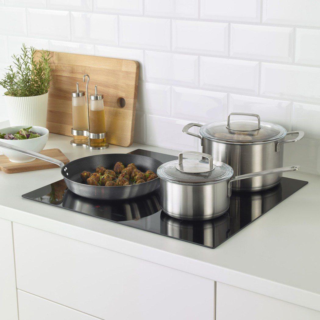 僅三分之一的家長認知到餐廚具表面塗料可能含有重金屬。「IKEA 365+」系列廚...