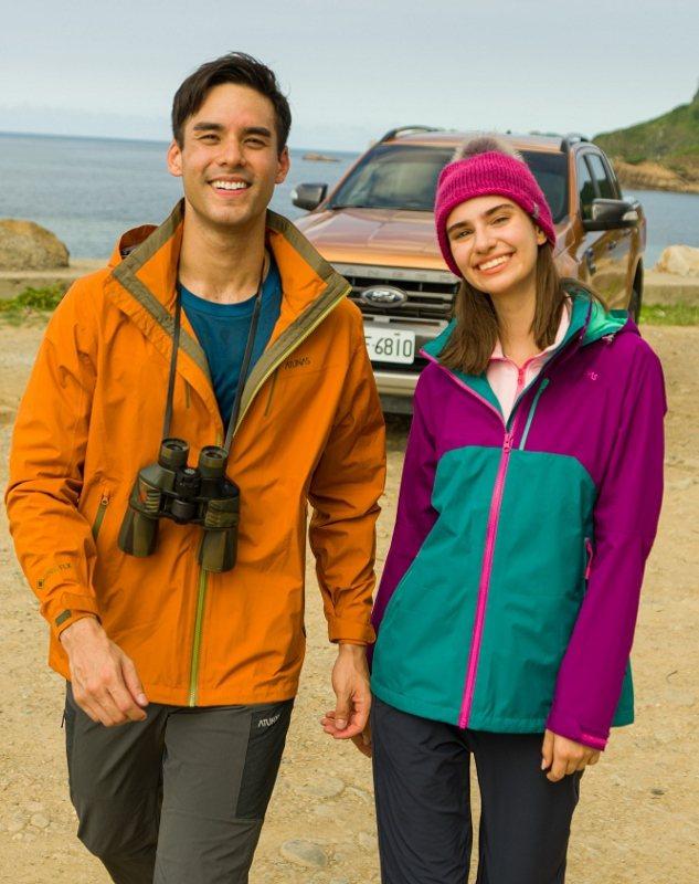 GORE-TEX單件式外套,方便輕鬆攜帶,獨特配色,高度透氣,因應多變天氣遮風擋...