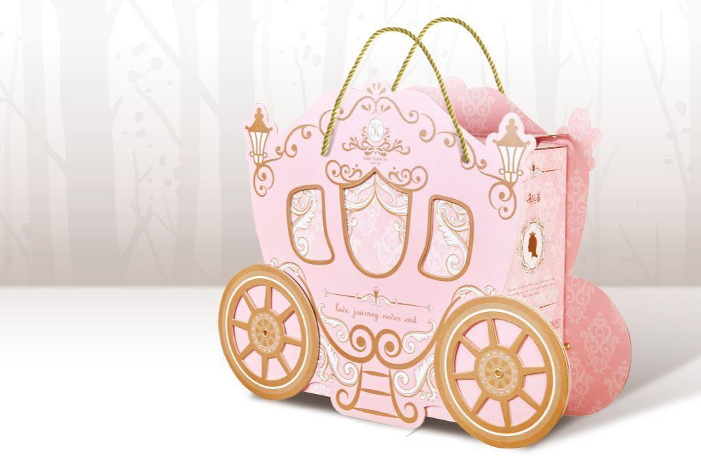 逸昇設計的「夢幻婚約禮盒」。 圖/取自逸昇設計官網