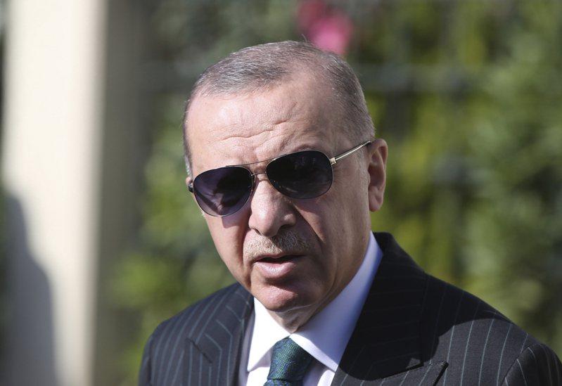 土耳其總統艾爾段。 美聯社
