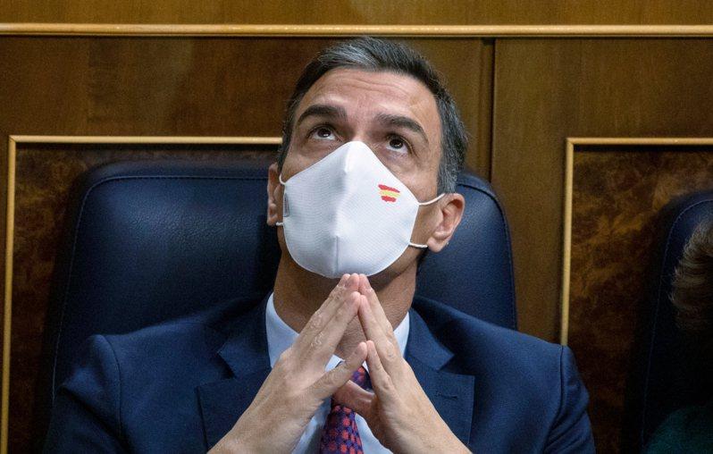 西班牙總理桑傑士(Pedro Sanchez)。 美聯社