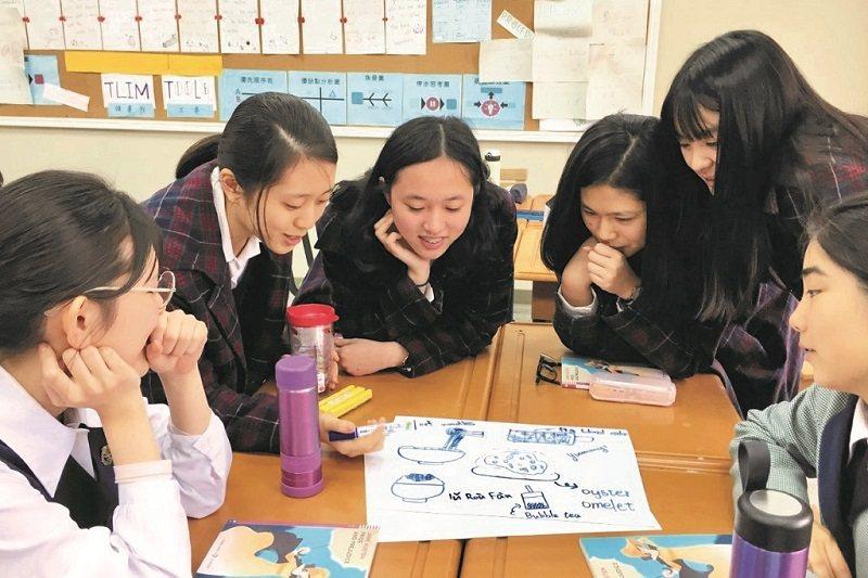 透過活動設計,引領學生分組討論,訓練分析、解決問題的能力。(照片提供/林佳紋)