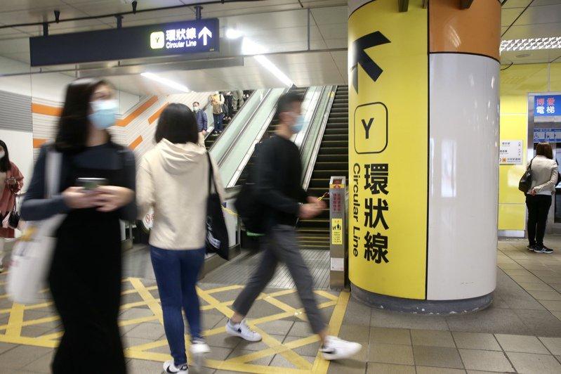 交通部長林佳龍說,只需一家捷運總公司,圖為環狀線。記者林俊良/攝影