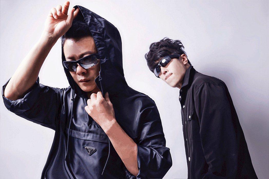 李康生(左)、范景翔攜手做公益。圖/范禾文化提供