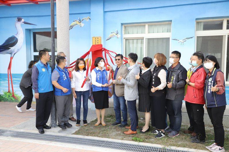 雲林縣首座綠電長青食堂今天在台西鄉溪頂長青食堂開幕。記者蔡維斌/攝影