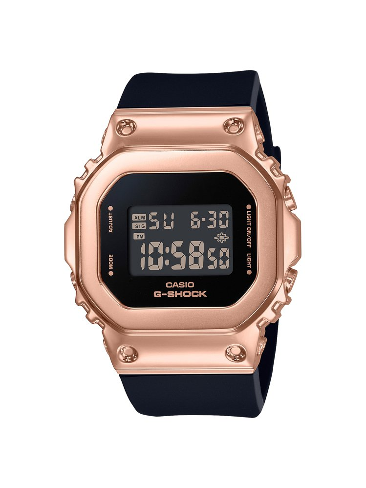 G-SHOCK GM-S5600PG-1腕表,不鏽鋼表殼6,000元。圖/CAS...