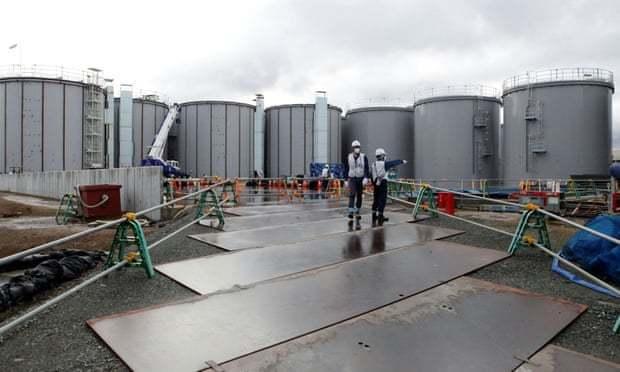 日本政府將在本月底前決定把福島第一核電廠的核廢水排放入海,引發環保團體反彈。路透