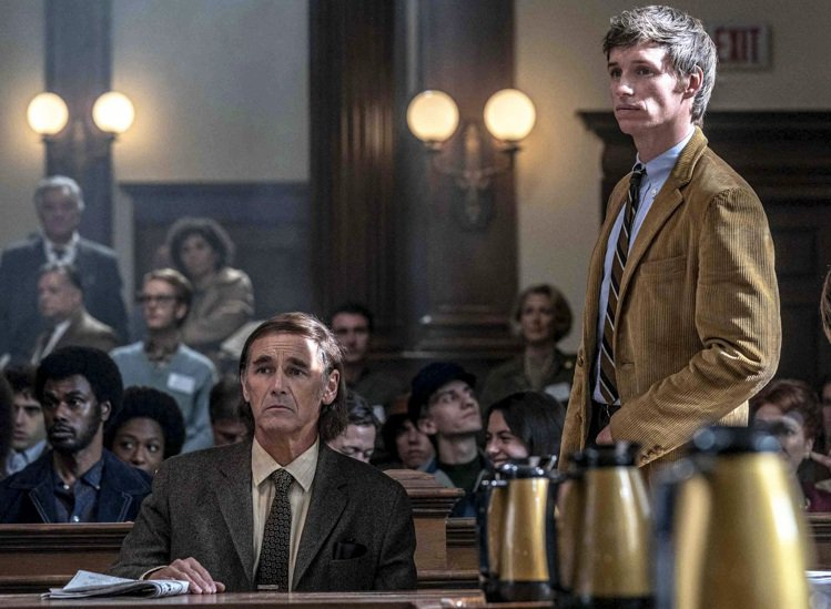 「芝加哥七人案:驚世審判」。圖/Netflix提供