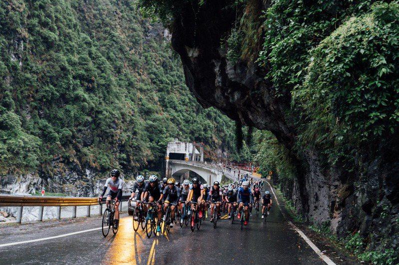 2020台灣自行車登山王挑戰今天在氣候不佳的狀態下順利落幕。圖/中華自行車騎士協會提供