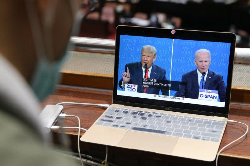 美國總統大選最後一場辯論昨舉行,選舉結果可能牽動美中台關係。記者許正宏/攝影