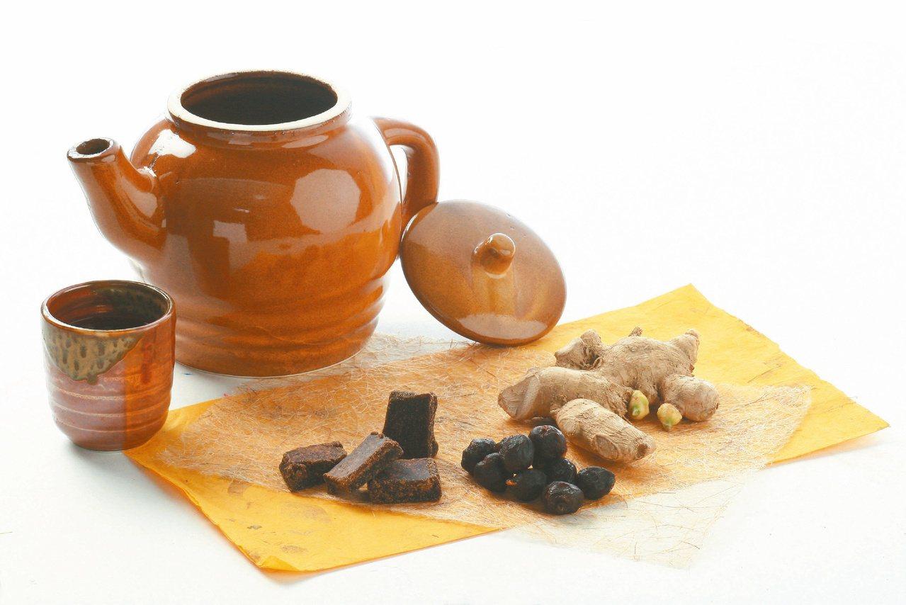 睡前可喝薑茶,提前補氣過好冬。記者陳立凱/攝影