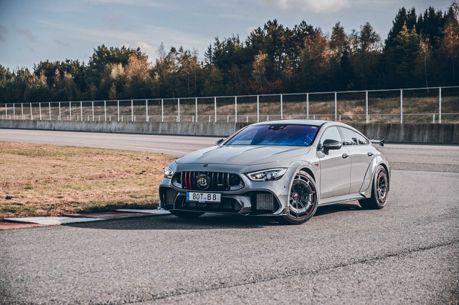 Brabus推出限量10台Rocket 900! 馬力900匹的狂暴Mercedes-AMG GT 63 S!