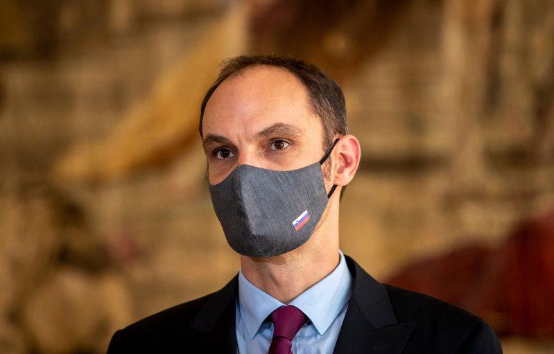 斯洛維尼亞外交部長洛迦(Anze Logar)確診新冠肺炎。 歐新社