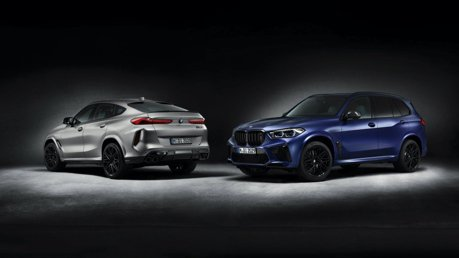 BMW推出X5 M與X6 M Competition First Edition 限量500台的性能特仕車!
