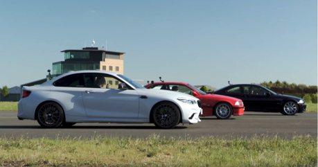 影/BMW E36 M3與E46 M3追得上M2 Competition嗎?