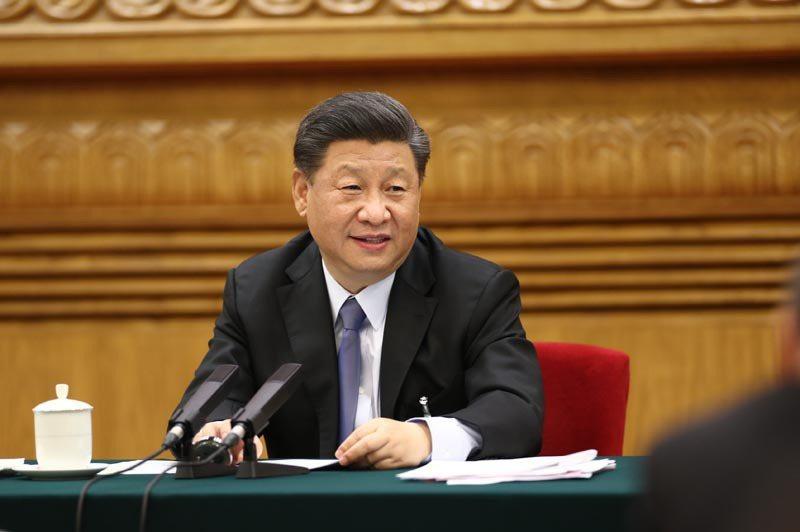 大陸國家主席習近平。新華社資料照片