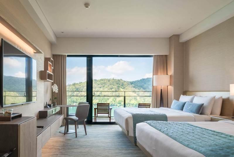 雲品溫泉酒店山景客房,可趁旅展低價入手。圖/雲朗觀光提供