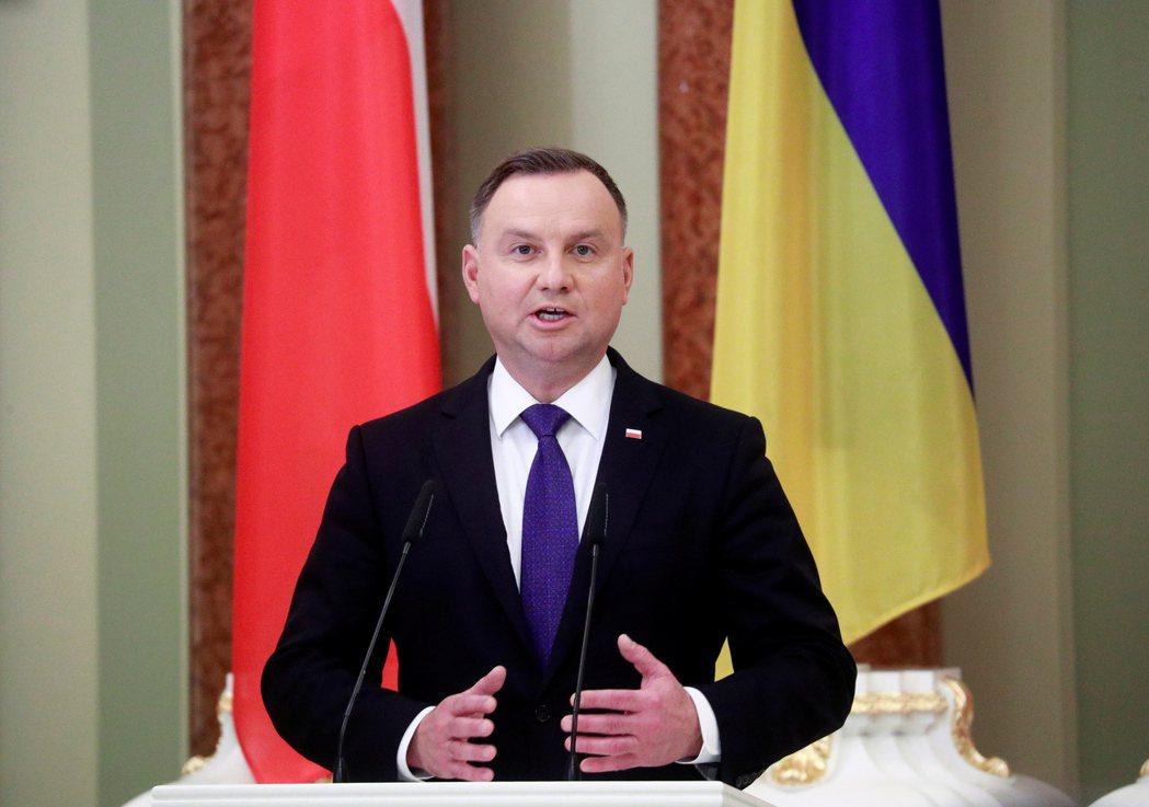 波蘭總統杜達確診新冠肺炎。歐新社