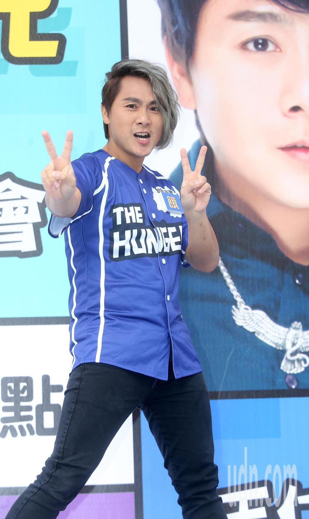 飢餓遊戲開播四週年見面會下午舉行,王仁甫出席。記者曾吉松/攝影