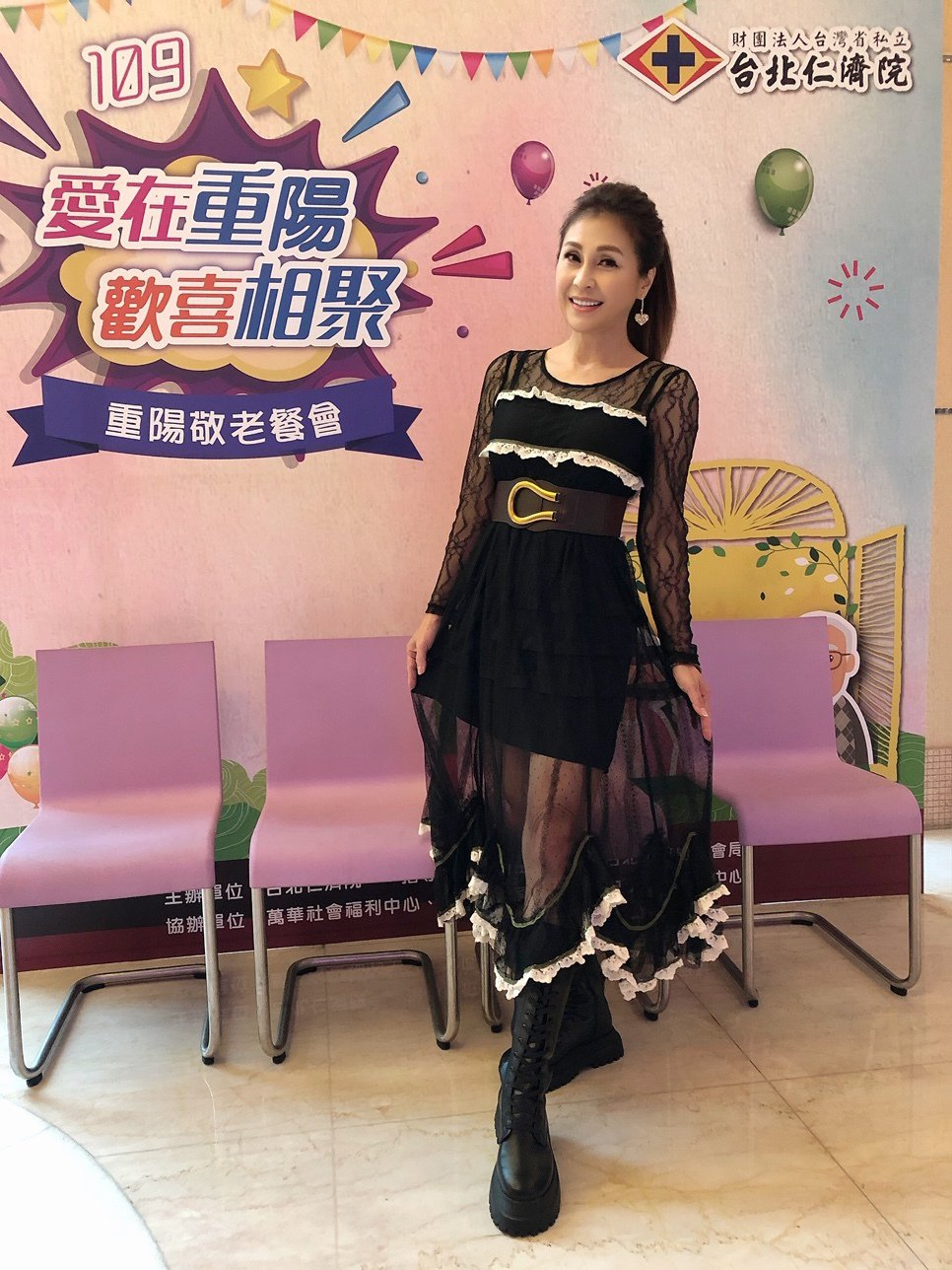 梁佑南保養得宜,女兒27歲了,身材依舊凍齡。圖/民視提供