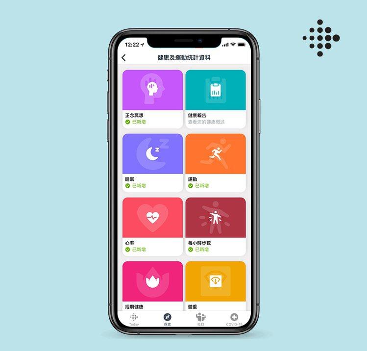 Fitbit Premium整合心率追蹤、飲食記錄、活動追蹤與睡眠追蹤等多元功能...