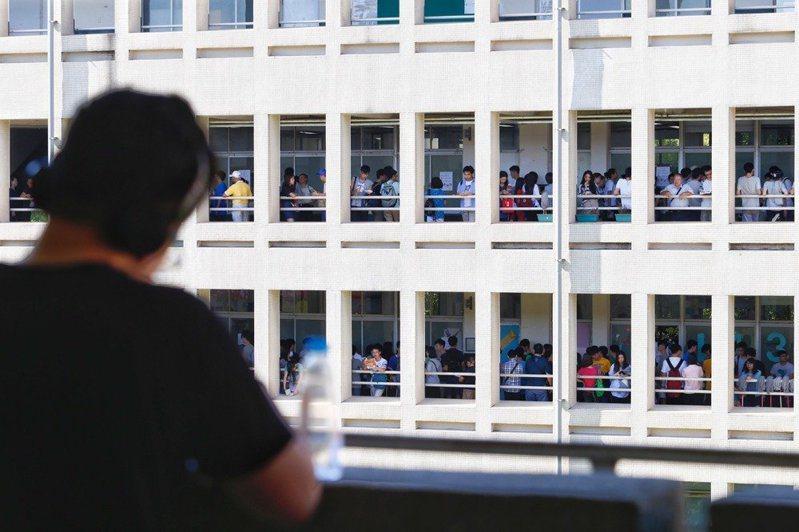 聯合報針對大學教授怎麼看學習歷程檔案進行調查。圖/聯合報系資料照片