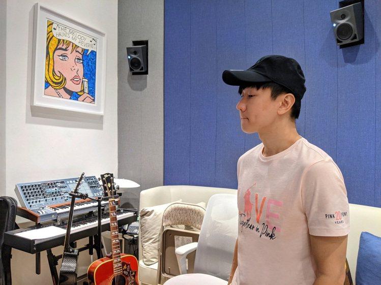林俊傑詮釋Pink Pony T恤。圖/Ralph Lauren提供