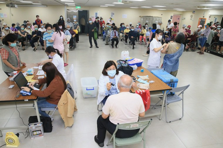今年公費流感疫苗接種踴躍。本報資料照片