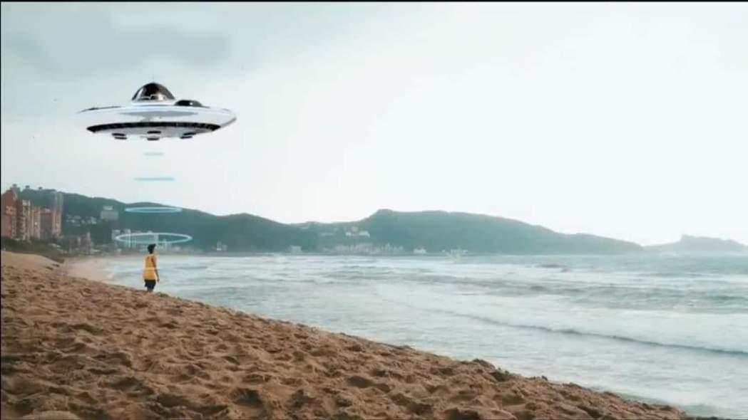 「綜藝玩很大」在片尾製作一段小鬼要回歸星球的畫面。 圖/擷自PTT