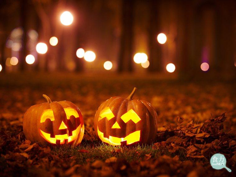 「傑克南瓜燈」是萬聖節最經典的裝飾品之一。 圖片提供/食力