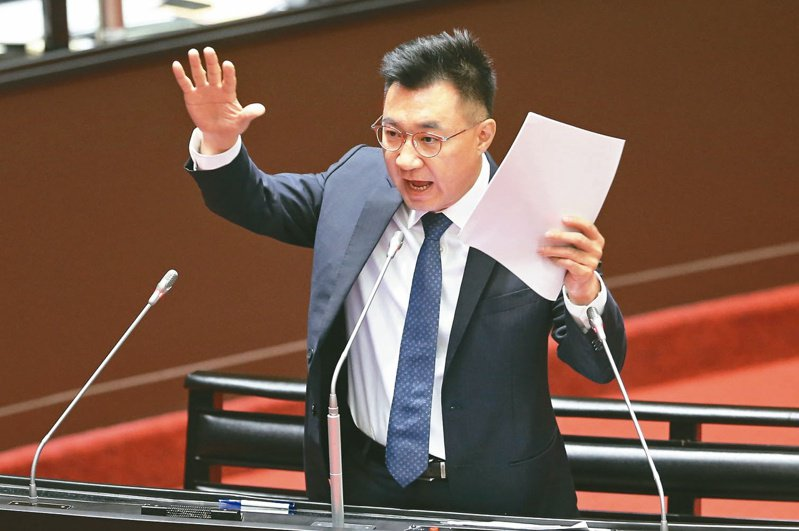 國民黨主席江啟臣被勸進轉戰桃園市長。圖/聯合報系資料照