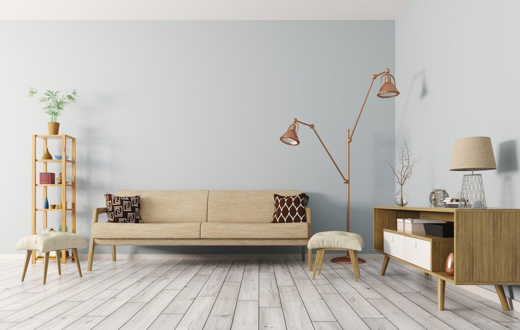 近年居家裝潢非常流行木地板。 示意圖/ingimage