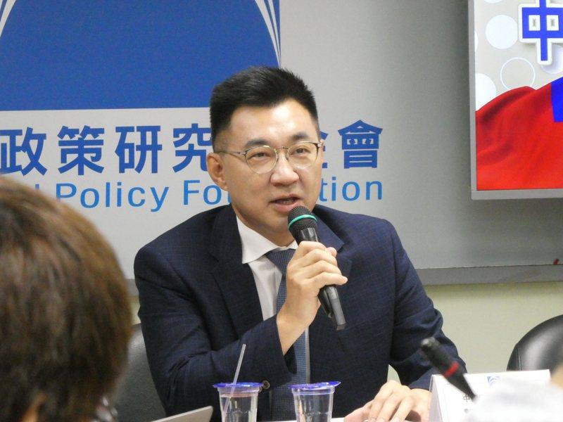 國民黨主席江啟臣表示,台灣光復節這一天,對很多人有不同意義,特別是經過那段歷史的台灣人民,至少有幾個重要意義。聯合報系資料照片/記者周志豪攝影