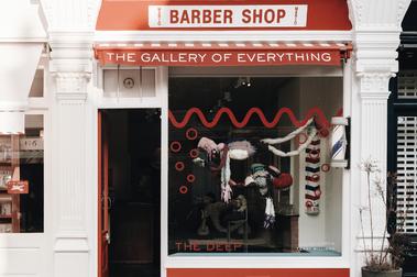 【倫敦男子的生活日常】英式理髮廳蛻變成獨立藝術家舞台:藝廊 The Gallery of Everything