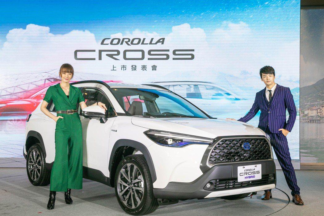 TOYOTA Corolla Cross喊出年販4萬輛高標。 圖/和泰汽車提供