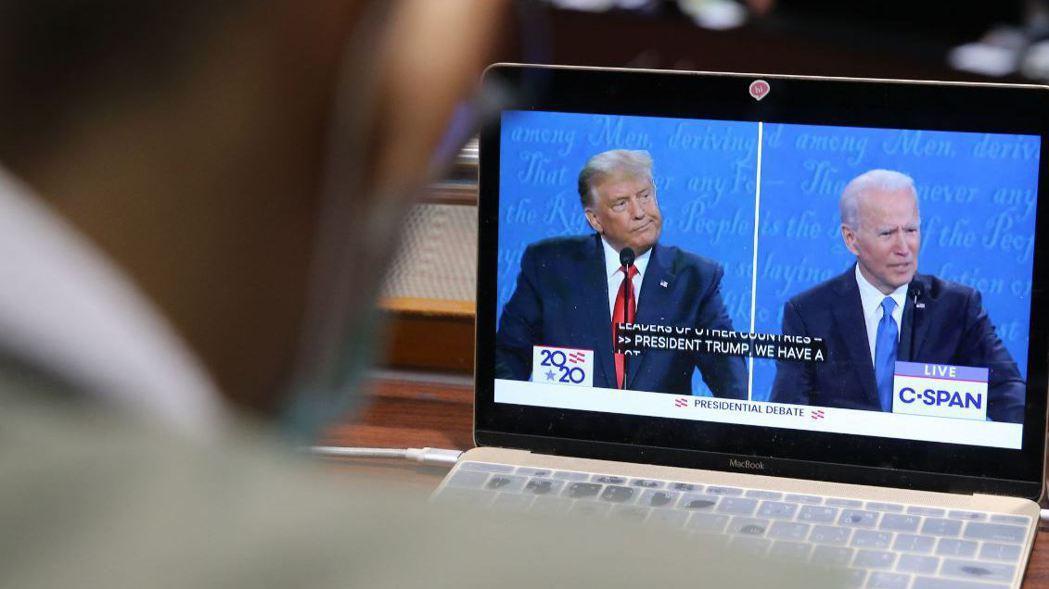 美國總統大選辯論在台灣時間上午9時舉行,此次選舉牽動台灣、美國與中國大陸的三邊關...
