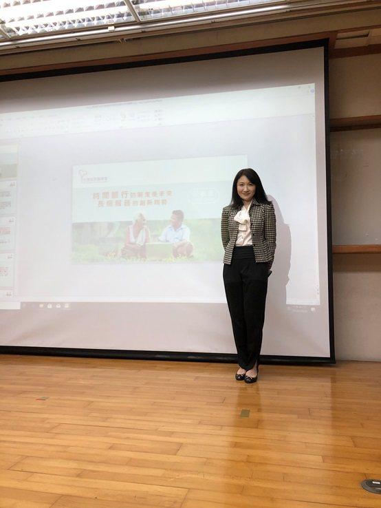 沅好生物科技公司總經理李如易。 台灣長照醫學會/提供