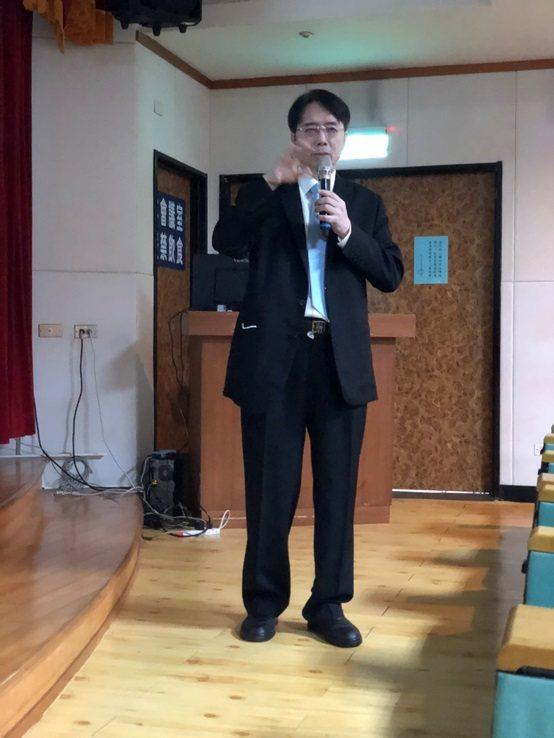 前馬偕紀念醫院院長施壽全教授。 台灣長照醫學會/提供