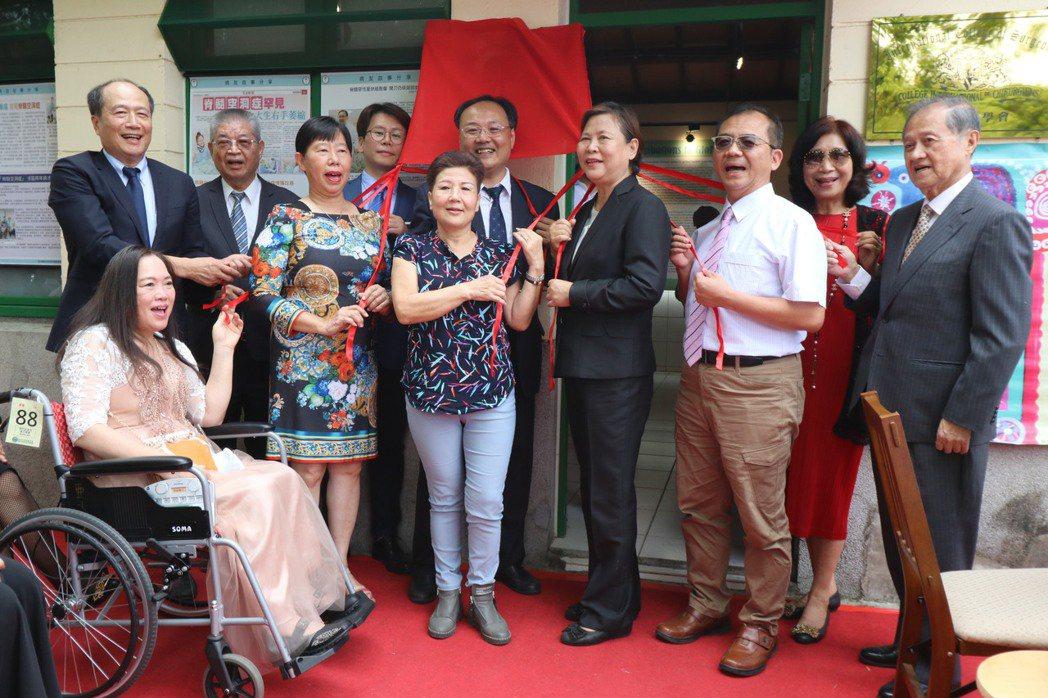 「脊髓空洞症」診斷不易且治療困難,亞洲大學附屬醫院神經外科主任林志隆昨成立「愛相...