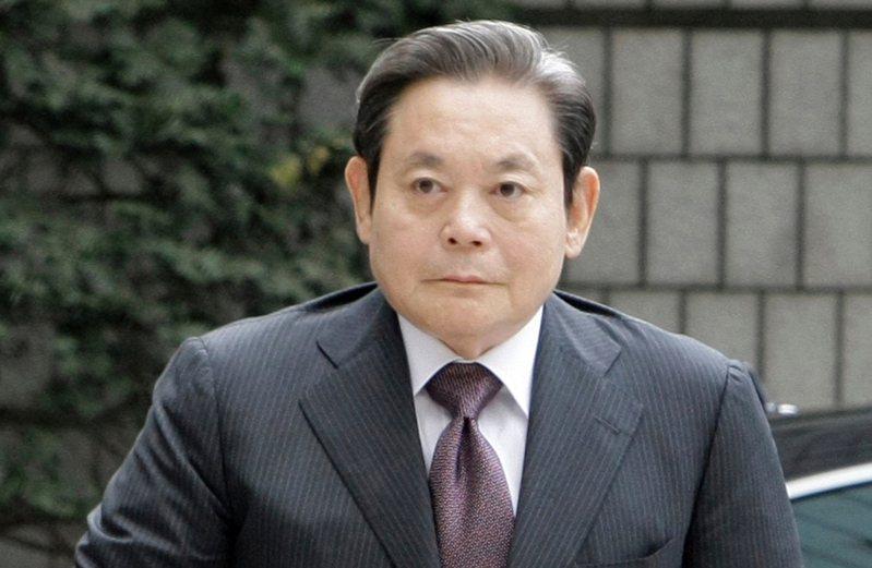 三星電子會長李健熙25日在醫院病逝,享夀78歲。美聯社