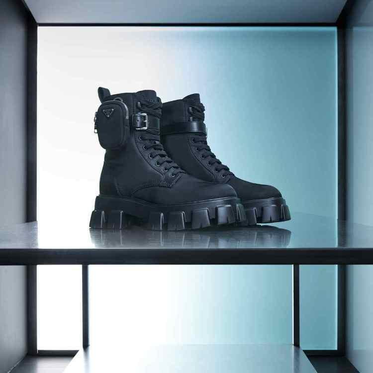 PRADA Re-Nylon再生尼龍系列品項齊全。圖/PRADA提供