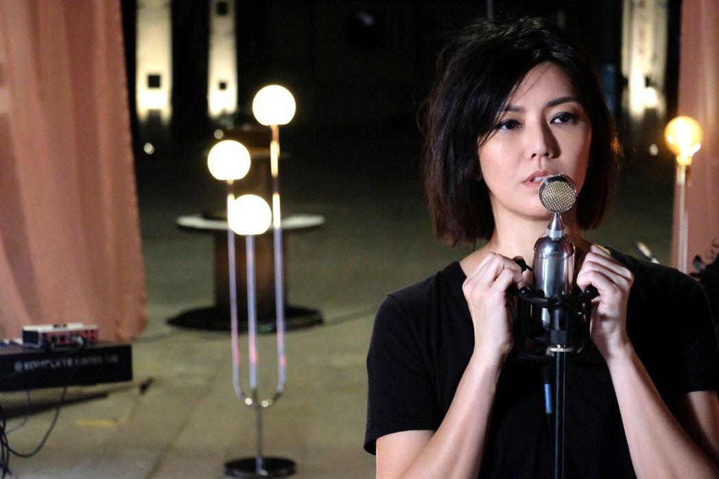 孫燕姿在線上音樂會獻唱多首歌曲。圖/環球音樂提供
