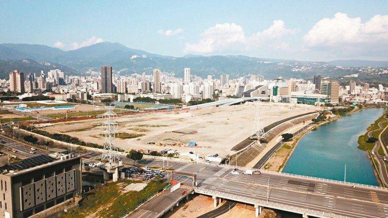 北投士林科學園區號稱「台北市下一個產業發展引擎」,卻遭兩度流標。圖/截取自台北市...