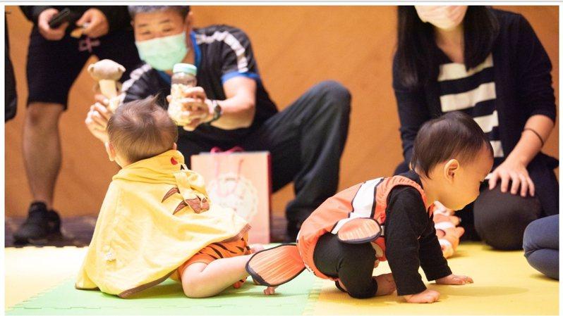 宏其婦幼醫院27周年慶,舉辦寶寶回娘家活動獲熱情響應。圖/桃園市政府新聞處提供