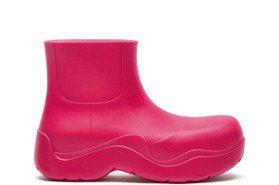 雨天也能穿出俏皮時尚 BV環保材質短靴新登場