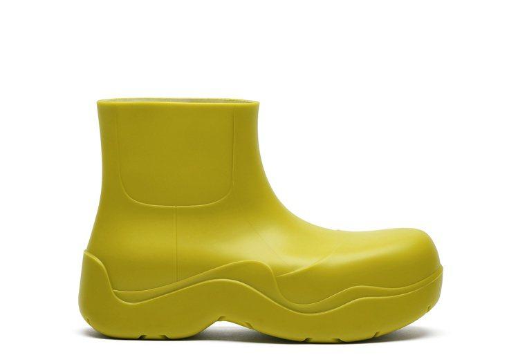 The Puddle踝靴 (奇異綠),20,100元。圖/Bottega Ve...