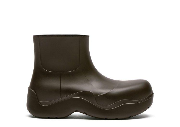 The Puddle踝靴 (濃咖啡),20,100元。圖/Bottega Ve...