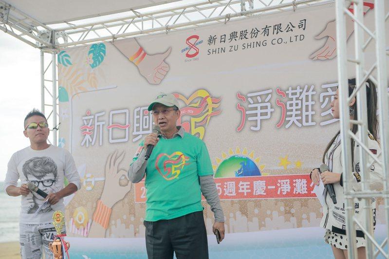 新日興董事長呂勝男指出,目前公司接單順暢,「週六晚上工廠都在不停加班」,對第4季營運充滿樂觀。圖片提供/新日興